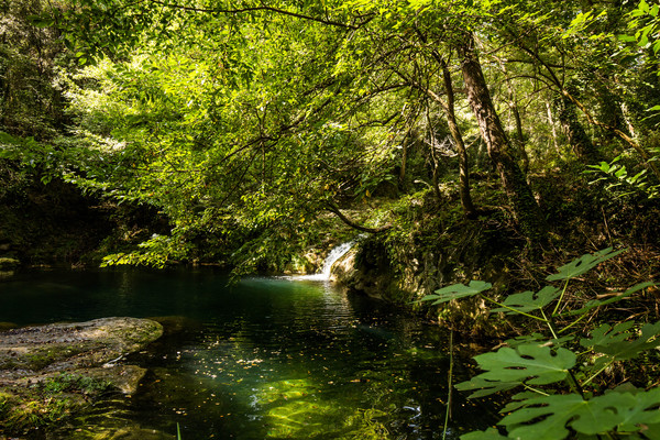 реки водопады ла гароча