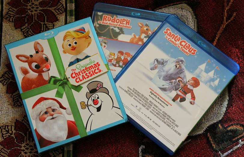 the original christmas classics on blu ray and dvd - Christmas Classics Dvd
