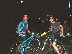 Photo: At the start with my friend Dan Hickstein