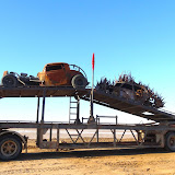 More cars on the Mad Max film set