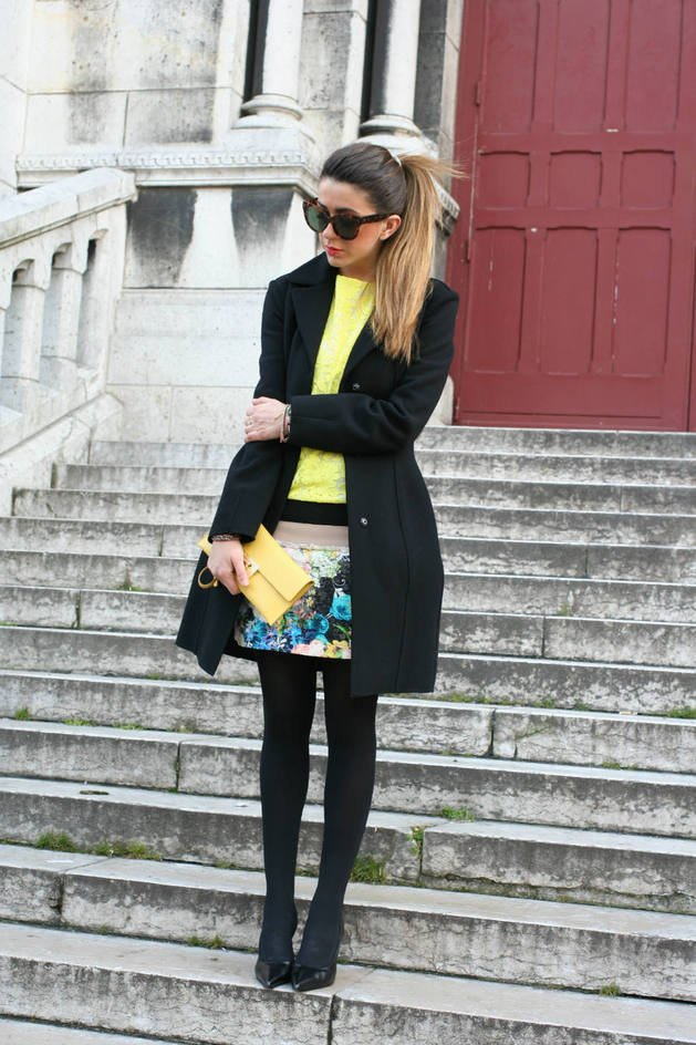 Fashionable outfit ideas with skirts for winter