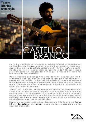 Castello Branco | Teatro Ribeiro Conceição | 6 de Dezembro