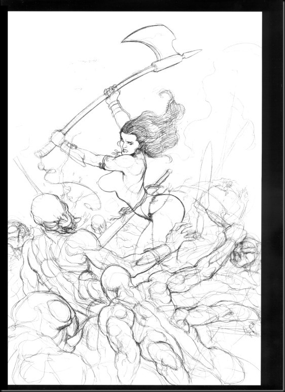 [Frank Cho] Women - Selected Drawings and Illustrations_854057-0099