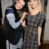 WWW.ENTSIMAGES.COM -      Fifi Geldof and Ashley James   at      Christmas with the K9 Angels at The Bridge Pub and Dining Rooms Casteinau Barnes London December 10th 2014                                                Photo Mobis Photos/OIC 0203 174 1069