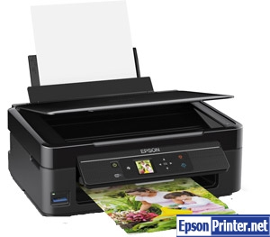 How to reset Epson XP-312 printer