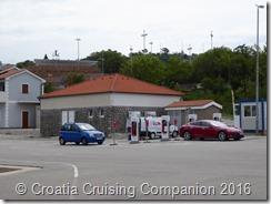 Croatia Cruising Companion - Senj, Tesla charger