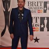 OIC - ENTSIMAGES.COM - Simon Le Bon  at the  The BRIT Awards 2016 (BRITs) in London 24th February 2016.  Raymond Weil's  Official Watch and  Timing Partner for the BRIT Awards. Photo Mobis Photos/OIC 0203 174 1069