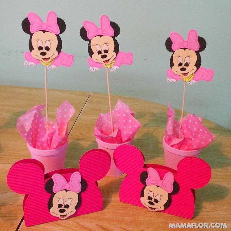 centro de mesa mickey y minnie mouse --- (3)