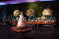 Fotos de decoração de casamento de Casamento Gabriela e Gustavo no Clube Piraquê Salão Capitânia da decoradora e cerimonialista de casamento Liliane Cariello que atua no Rio de Janeiro e Niterói, RJ.