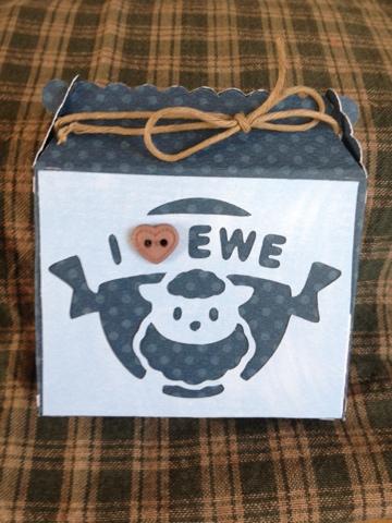 I Love Ewe box
