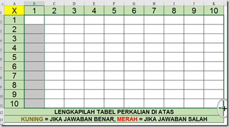 Cara Membuat T Tabel Dengan Excel