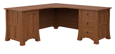 Edmonton L-Shaped Desk