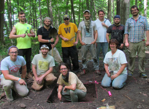 2014 WMU Apple Island dig group photo