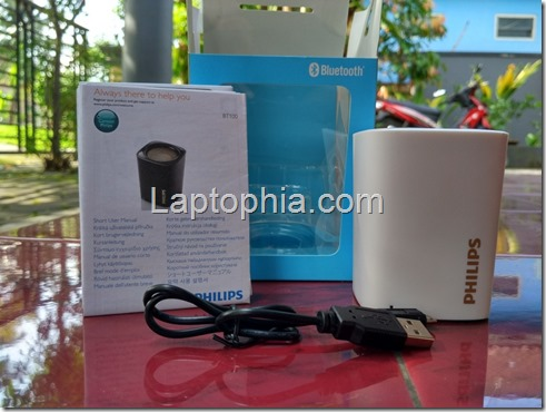 Paket Pembelian Philips BT100 Wireless Speaker