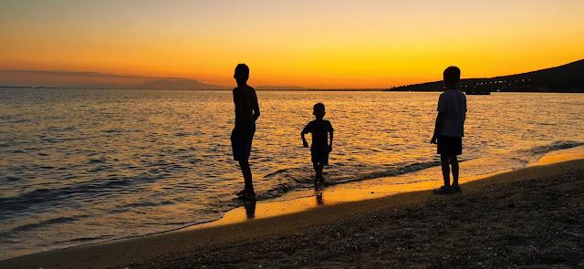 Camping am Meer - Griechenland