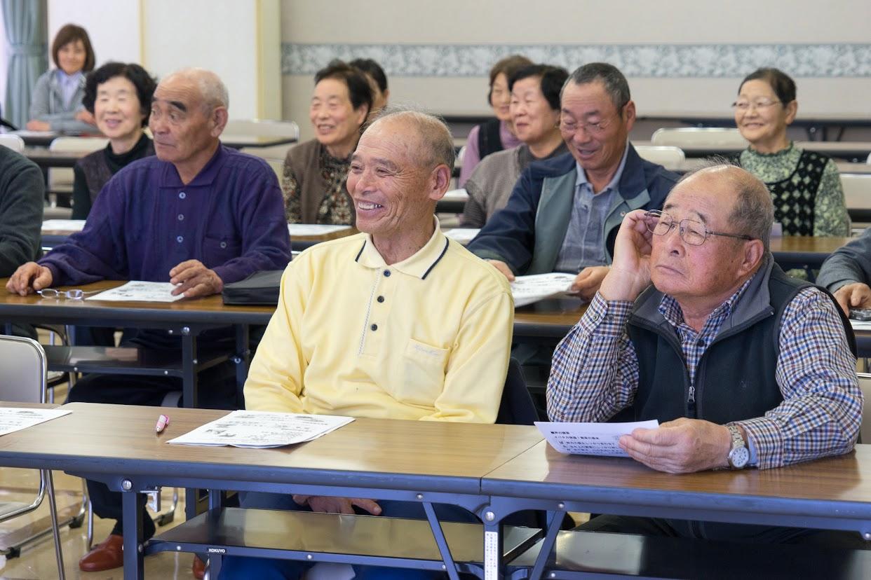 笑いがあふれる研修会