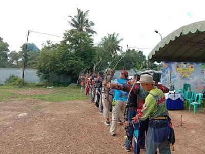 Bersaing dan Silaturahmi, Puluhan Pemanah Unjuk Skill di Barebow Series Chapter