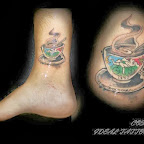 coffee ankle - tattoo meanings