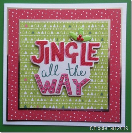 Jingle All The Way Card 1