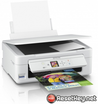 How to reset Epson XP-345 printer