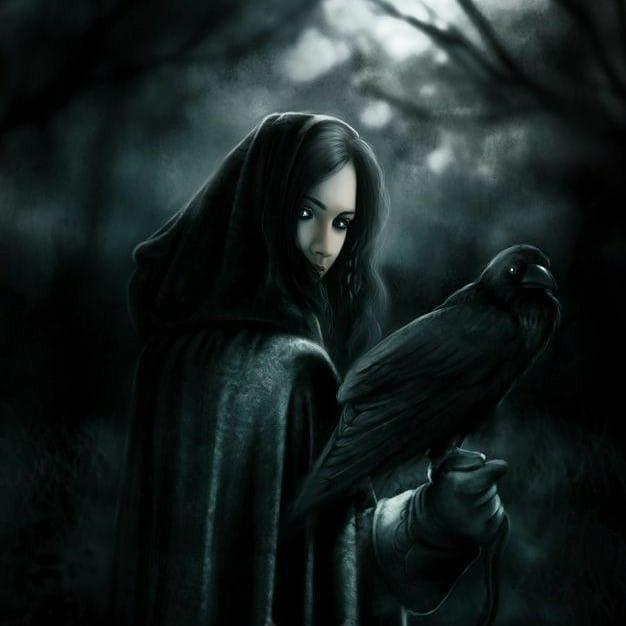 The Dark Raven Witch : Ravens in Witchcraft