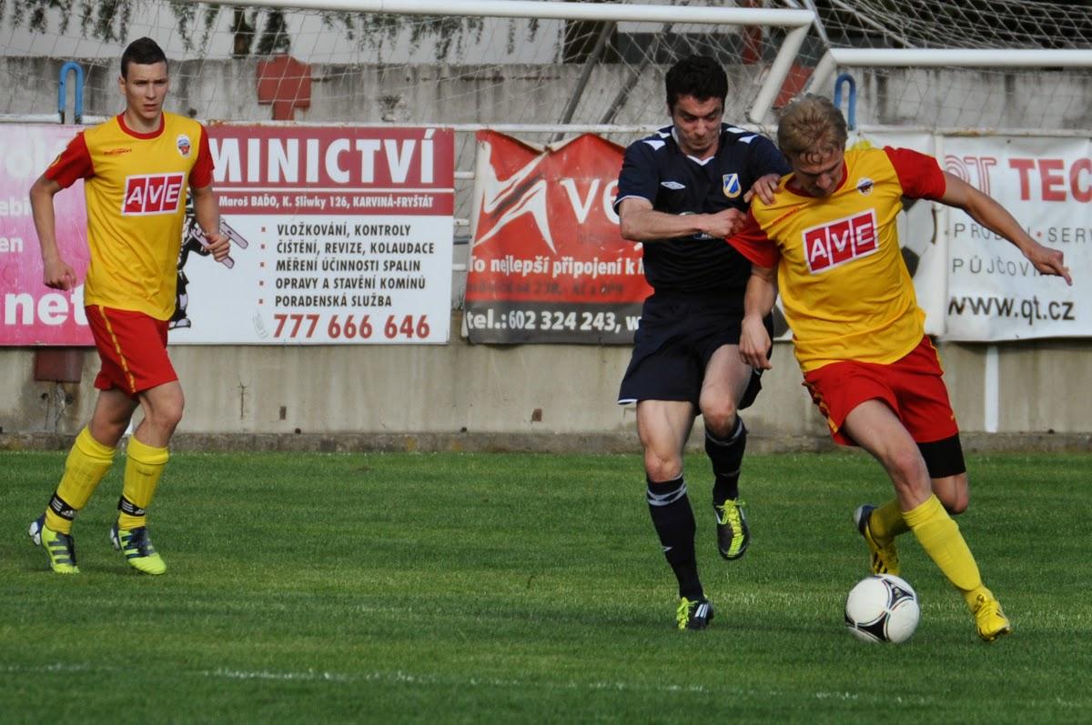 SK Dětmarovice 2-0 1.BFK Frýdlant n.O.