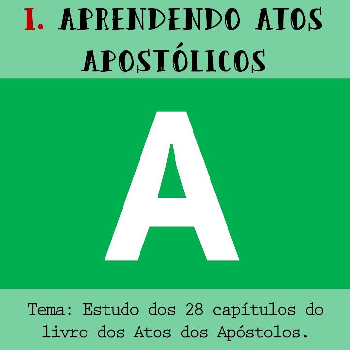 Estudo dos 28 capítulos do livro dos Atos dos  Apóstolos.