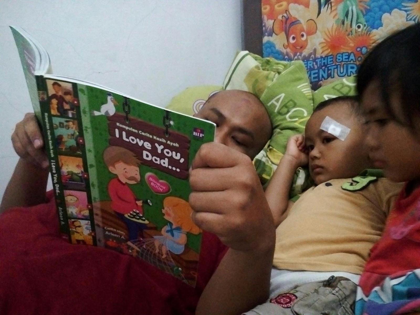 bercerita sebelum tidur