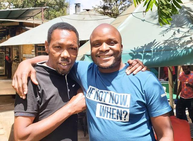 Former Tahidi High actor Joseph Kinuthia alias Omosh picture