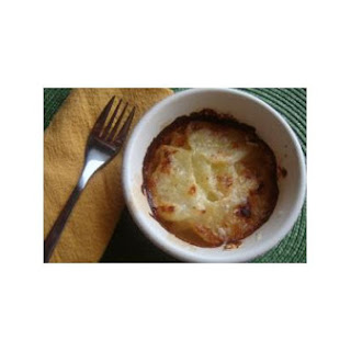 Coolea and Honey Potato Gratin