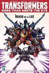Actualización 13/09/2016: Transformers - More than Meets the Eye #54, traduce DarkScreamer, revisa Serika y maqueta Byjana.
