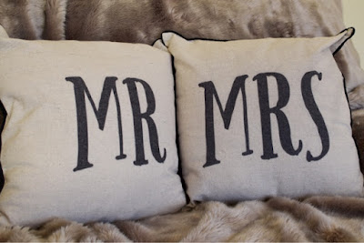 Mr and Mrs Cushions from Jemimas Locket Faux Fur Throw B&Q