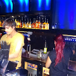 the bar at club air Amsterdam in Amsterdam, Noord Holland, Netherlands