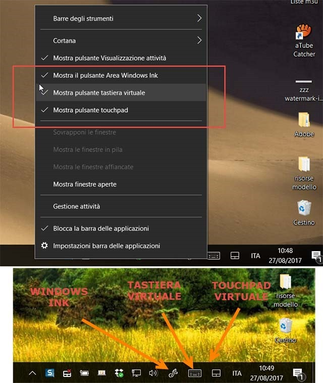 tastiera-touchpad-virtuale