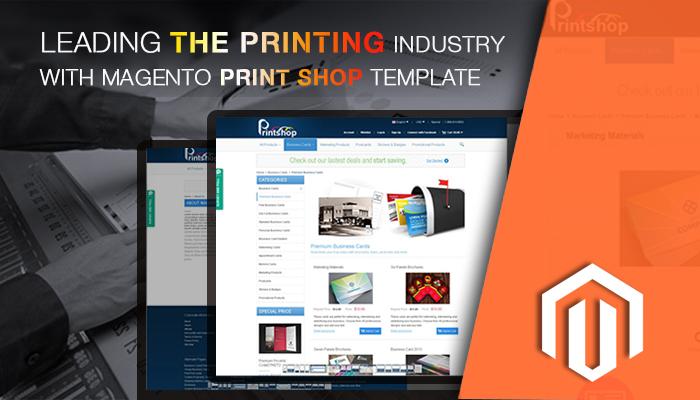Magento Printing Theme