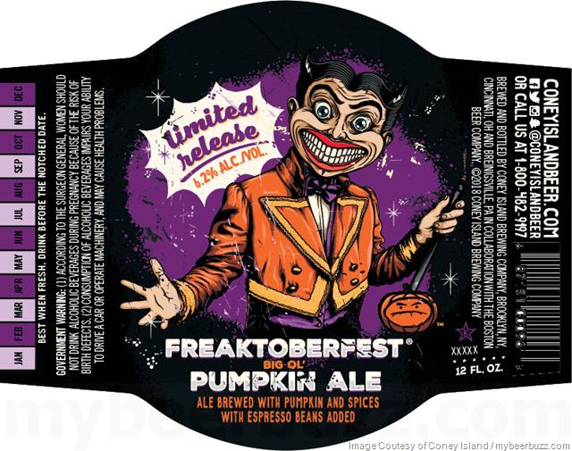 Coney Island Freaktoberfest Big Ol' Pumpkin Ale 2018