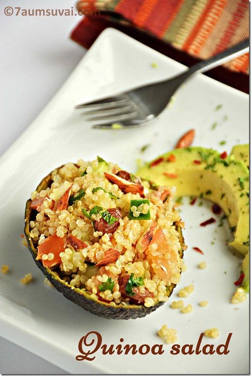 Tomato mint quinoa salad / Quinoa salad