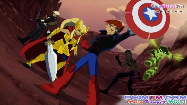 Xem Phim Biệt Đội Siêu Anh Hùng: Thế Hệ Kế Tục - Next Avengers: Heroes Of Tomorrow - phimtm.com - Ảnh 2