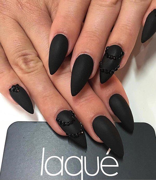 rhinestone nail art designs Ideas 2017 - Styles Art