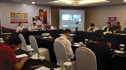 KSP Turun ke Sumbar: Pemerintah Ingin Mendengarkan Masukan dan Kritikan Rakyat