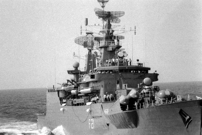 INS Gomati - F21 - Missile Frigate - Indian Navy - 03-TN