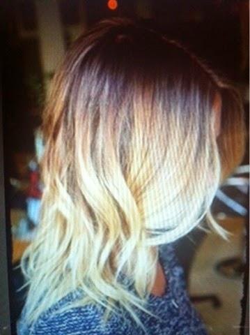 hair, blonde, ombre, haircolor,