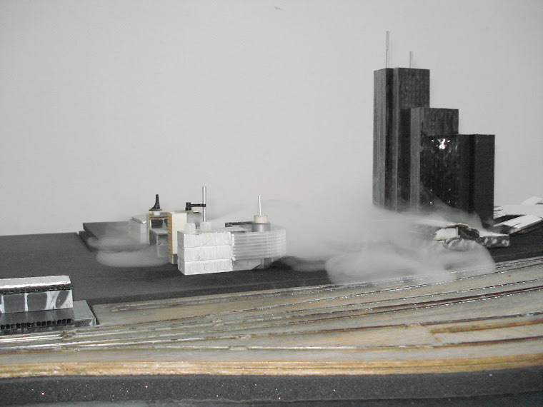 Bertrand Lamarche, The Fog Factory, 2005-2011, Studio view