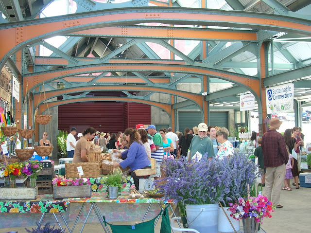 A portion of the Depot Market Square building, including all the arches are made of recycled material from a bridge in Skagit County.Credit: Caroline Kinsman