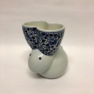 Marcel Wanders for Moooi and Royal Delft Rabbit Vase