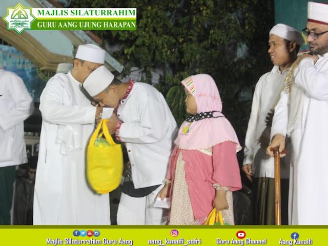 Majelis silaturahim Guru Aang Hadirkan Syekh Ammar Ar Rufati Al Hasani dari Palestina