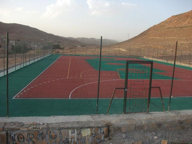 صور الملعب الجواري بحي الدراويس
