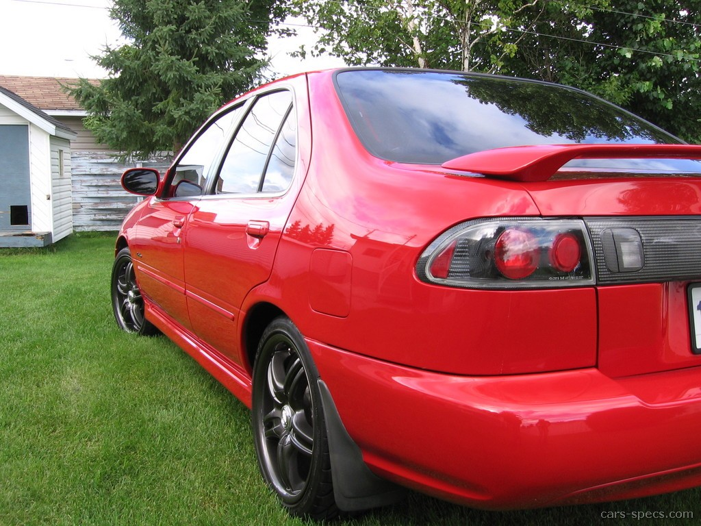 1997 Nissan Sentra GXE Sedan 1.6L 4-cyl. 5-speed Manual
