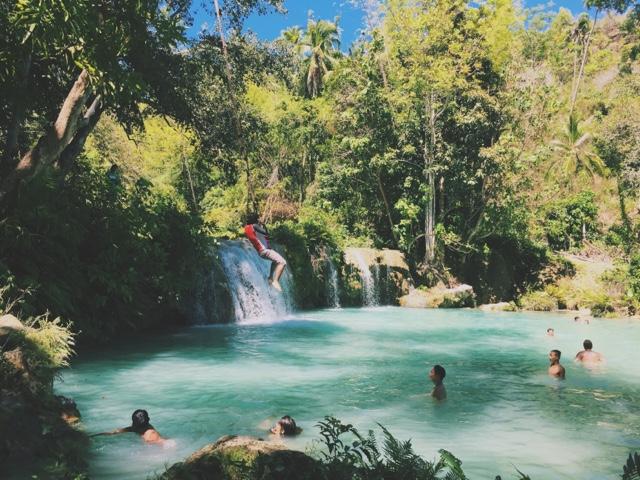 Cambugahay, Cambuhagay, Falls, Siquijor