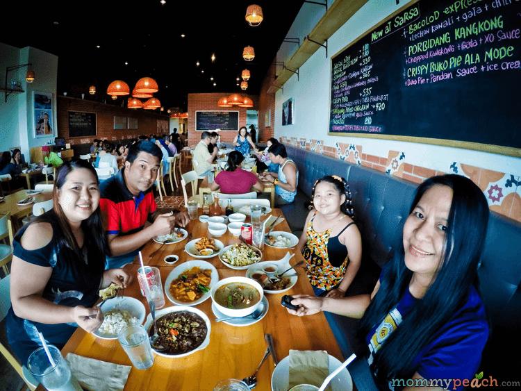 Sarsa Kitchen + Bar, MOA